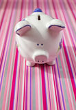 Piggy bank. Save money with your financial piggy bank stock images