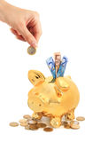 Piggy bank. Stock Photo