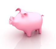 Piggy Bank. Three dimensional illustration of Piggy Bank Stock Image