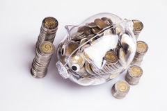 Piggy bank! Royalty Free Stock Photography