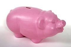 Piggy Bank 3. Piggy bank sits alone stock photography