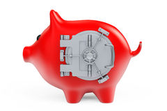 Piggy Bank as Banking Safe Stock Photography
