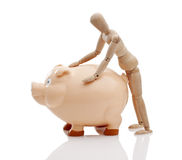 Piggy Bank Banker Management Royalty Free Stock Photo