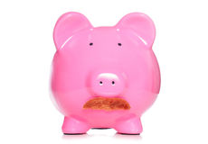 Piggy bank banker Royalty Free Stock Photography