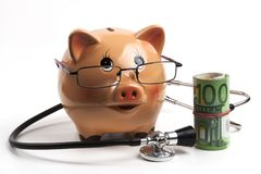 European Health Costs Royalty Free Stock Images