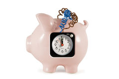 Piggy bank bomb Stock Photography