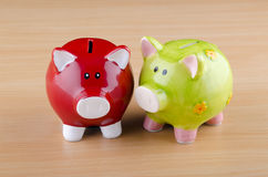 Piggy bank - business concept Stock Photography