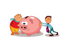 Piggy bank. Business concept. Stock Photo