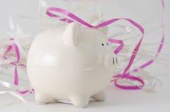 Piggy Bank Celebration Stock Photography