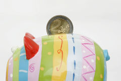 Piggy bank, closeup Stock Photography