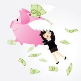 Piggy bank Concept Royalty Free Stock Image