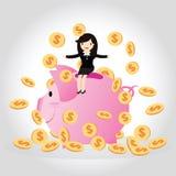 Piggy bank Concept Royalty Free Stock Photos