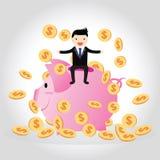 Piggy bank Concept Stock Photos