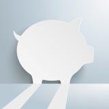 Piggy Bank Copyspace Stock Photo