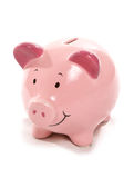 Piggy bank cutout Stock Images