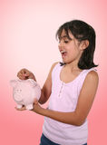 Piggy Bank Deposit Stock Images