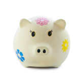 Piggy bank design Royalty Free Stock Images