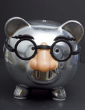 Piggy Bank in Disguise Stock Image