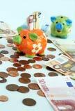 A piggy bank Royalty Free Stock Photos