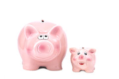 Piggy Bank - Extra money Stock Photography