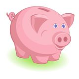 Piggy bank. This is file of EPS10 format Royalty Free Stock Photos