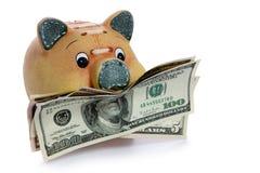 Piggy Bank - Financial Crisis Stock Photos