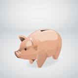 Vector Piggy bank Royalty Free Stock Photo