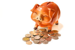 Piggy bank. Royalty Free Stock Photography