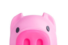 Piggy Bank. Isolated on white background Royalty Free Stock Photography