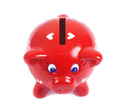 Piggy bank in love Stock Photography