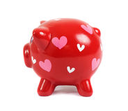 Piggy bank in love Stock Photo