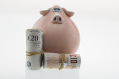 Piggy bank money Stock Image