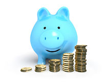 Piggy-bank money Royalty Free Stock Images