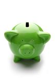 Piggy bank or money-box. On a white studio background Royalty Free Stock Photography