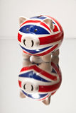 Piggy bank money box Royalty Free Stock Photos