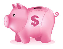 Piggy bank money box Royalty Free Stock Images
