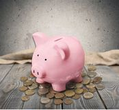 Piggy, bank, money Royalty Free Stock Photography