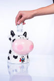 Piggy bank for money Royalty Free Stock Image