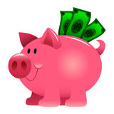 Piggy Bank Money Royalty Free Stock Photo