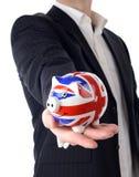 Piggy bank offer Stock Image