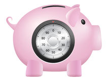 Piggy bank safe Royalty Free Stock Photography