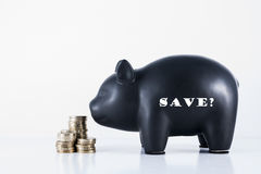 Piggy Bank Save? Royalty Free Stock Image