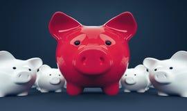 Piggy Bank save money investment Stock Image