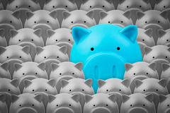 Piggy bank, saving finance concept Royalty Free Stock Photo