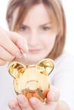 Piggy bank savings Royalty Free Stock Photography