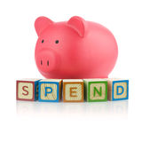 Piggy Bank Series Stock Photos