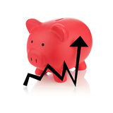 Piggy Bank Series Royalty Free Stock Image
