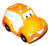 Piggy bank toy car Royalty Free Stock Image