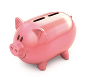 Piggy Bank Two Hole Royalty Free Stock Images