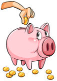 A piggy bank Stock Photography